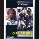 1991 Pinnacle Football #009 Chris Doleman - Minnesota Vikings