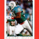 1995 Topps Football #284 Bryan Cox - Miami Dolphins