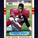 1989 Topps Football #337 Aundray Bruce RC - Atlanta Falcons