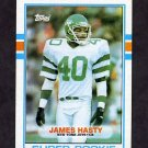 1989 Topps Football #224 James Hasty RC - New York Jets NM-M