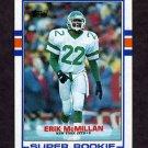 1989 Topps Football #223 Erik McMillan RC - New York Jets