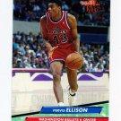 1992-93 Ultra Basketball #186 Pervis Ellison - Washington Bullets