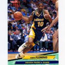 1992-93 Ultra Basketball #076 Vern Fleming - Indiana Pacers