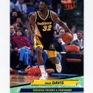 1992-93 Ultra Basketball #075 Dale Davis - Indiana Pacers