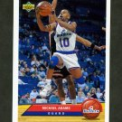1992-93 Upper Deck McDonald's Basketball #P42 Michael Adams - Washington Bullets