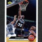 1992-93 Upper Deck McDonald's Basketball #P36 Antoine Carr - San Antonio Spurs
