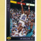 1993-94 Upper Deck Basketball #052 Jeff Malone - Utah Jazz