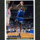 1995-96 Collector's Choice Basketball #083 Tony Dumas - Dallas Mavericks