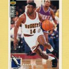 1994-95 Collector's Choice Basketball #136 Robert Pack - Denver Nuggets
