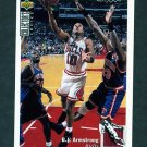 1994-95 Collector's Choice Basketball #080 B.J. Armstrong - Chicago Bulls