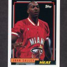 1992-93 Topps Basketball #383 John Salley - Miami Heat