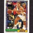 1992-93 Topps Basketball #335 John Crotty - Utah Jazz