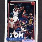 1992-93 Topps Basketball #317 Doug Overton - Washington Bullets