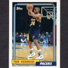 1992-93 Topps Basketball #280 Pooh Richardson - Indiana Pacers