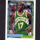 1992-93 Topps Basketball #251 Vincent Askew - Seattle Supersonics
