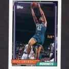 1992-93 Topps Basketball #240 Mike Gminski - Charlotte Hornets