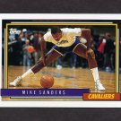 1992-93 Topps Basketball #239 Mike Sanders - Cleveland Cavaliers
