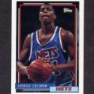 1992-93 Topps Basketball #230 Derrick Coleman - New Jersey Nets
