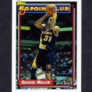 1992-93 Topps Basketball #215 Reggie Miller 50P - Indiana Pacers