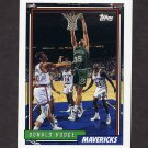 1992-93 Topps Basketball #178 Donald Hodge - Dallas Mavericks
