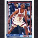 1992-93 Topps Basketball #095 Kenny Anderson - New Jersey Nets