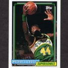 1992-93 Topps Basketball #079 Michael Cage - Seattle Supersonics