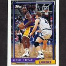 1992-93 Topps Basketball #045 Sedale Threatt - Los Angeles Lakers