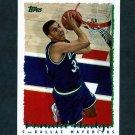 1994-95 Topps Basketball #331 Donald Hodge - Dallas Mavericks