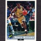 1992 Classic Basketball #07 Henry Williams - San Antonio Spurs