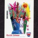 1991-92 Skybox Basketball #502 Derrick Coleman - New Jersey Nets