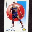 1991-92 Skybox Basketball #097 Jim Petersen - Golden State Warriors