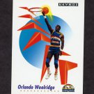 1991-92 Skybox Basketball #077 Orlando Woolridge - Denver Nuggets