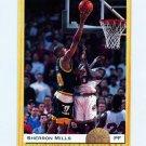 1993 Classic Basketball #095 Sherron Mills - Minnesota Timberwolves
