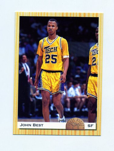 online store 30be5 baca5 1993 Classic Basketball #013 John Best - New Jersey Nets