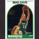 1989-90 Hoops Basketball #296 Brad Davis - Dallas Mavericks