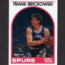 1989-90 Hoops Basketball #206 Frank Brickowski - San Antonio Spurs