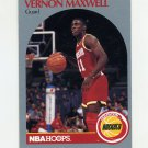1990-91 Hoops Basketball #126 Vernon Maxwell - Houston Rockets
