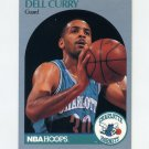 1990-91 Hoops Basketball #052 Dell Curry - Charlotte Hornets