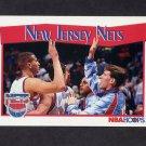 1991-92 Hoops Basketball #290 New Jersey Nets
