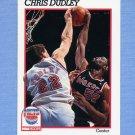 1991-92 Hoops Basketball #135 Chris Dudley - New Jersey Nets