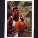1991-92 Hoops Basketball #520 Gerald Wilkins - New York Knicks