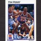 1991-92 Hoops Basketball #422 Tim Perry - Phoenix Suns