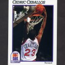 1991-92 Hoops Basketball #417 Cedric Ceballos - Phoenix Suns