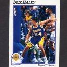 1991-92 Hoops Basketball #383 Jack Haley - Los Angeles Lakers