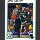 1991-92 Hoops Basketball #338 John Bagley - Boston Celtics