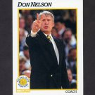 1991-92 Hoops Basketball #229 Don Nelson CO - Golden State Warriors