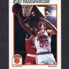 1991-92 Hoops Basketball #144 Kiki Vandeweghe - New York Knicks