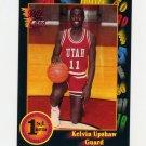 1991-92 Wildcard Basketball #106 Kelvin Upshaw - Utah NM-M