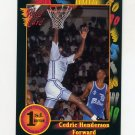 1991-92 Wildcard Basketball #087 Cedric Henderson - Georgia NM-M