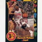 1991-92 Wildcard Basketball #078 Haywoode Workman - Oral Roberts NM-M